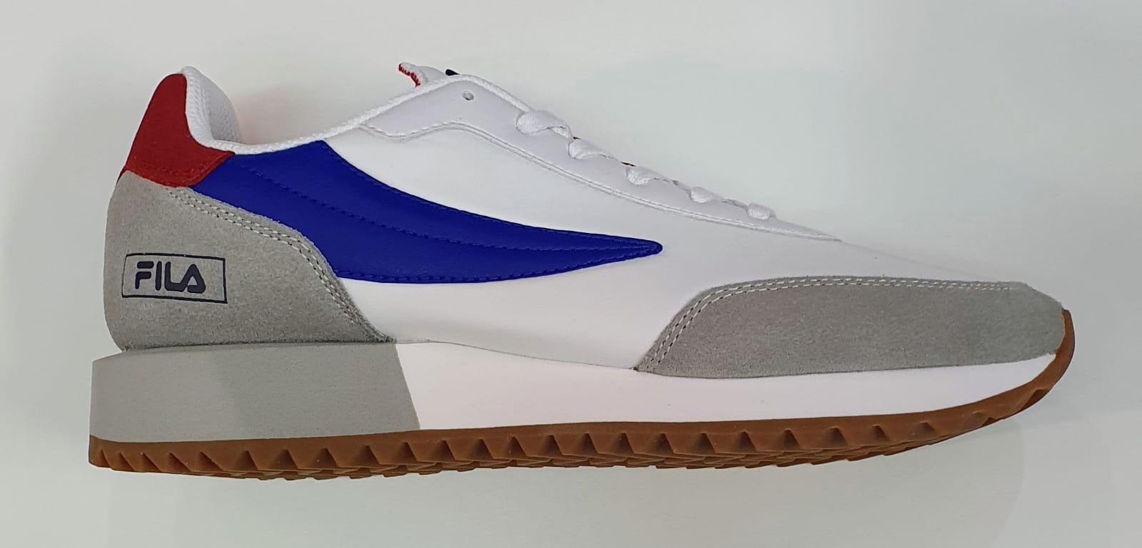 Fila scarpa retronique uomo bianco grigio