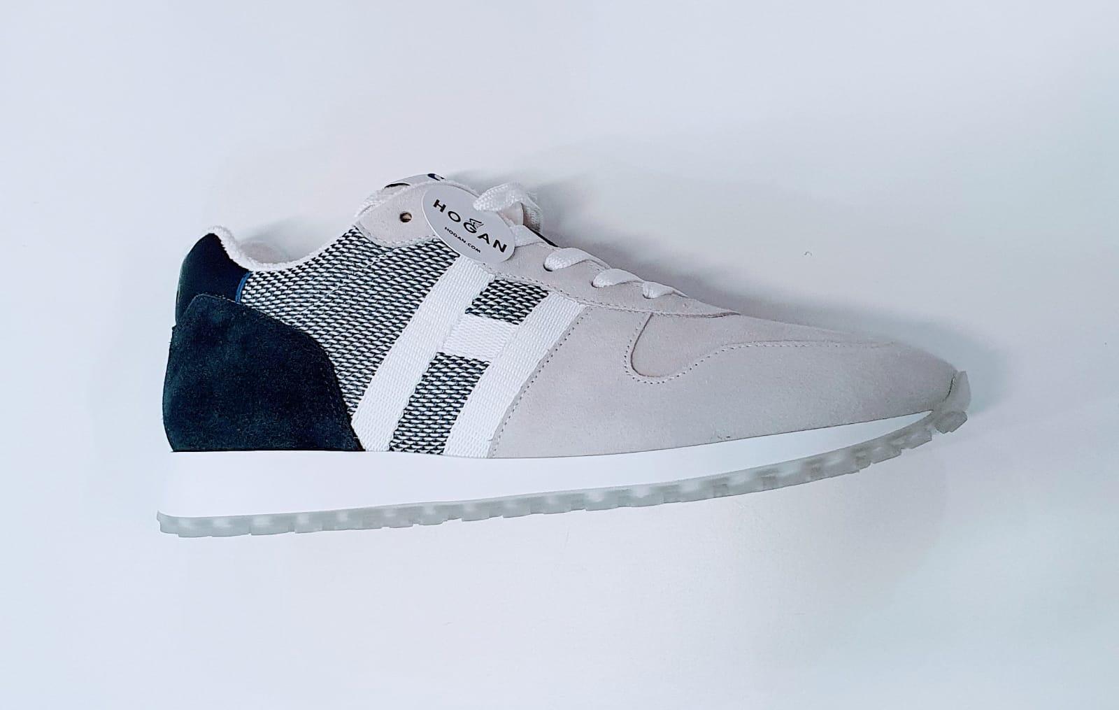 HOGAN H429 Nastro Sneakers Blu-Ghiaccio
