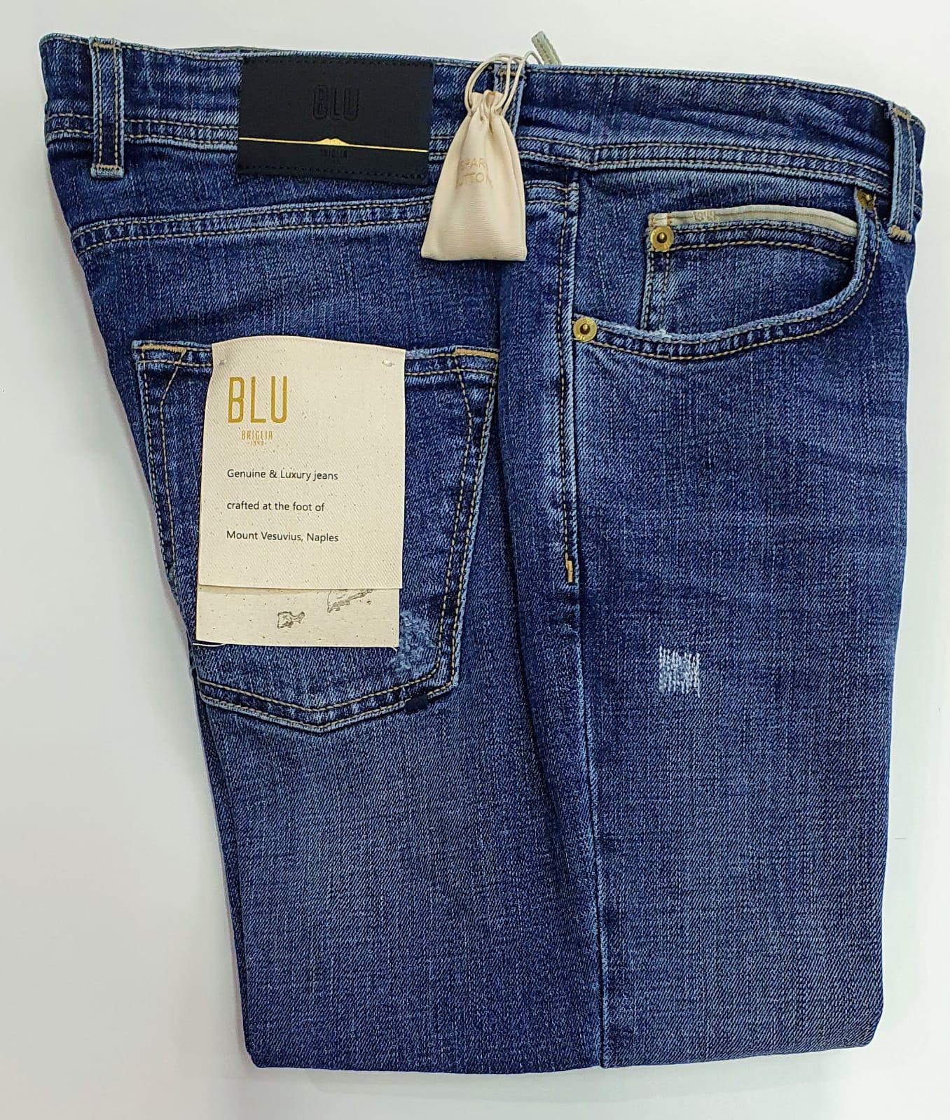 Jeans Briglia Ribot-c676 lavaggio medio