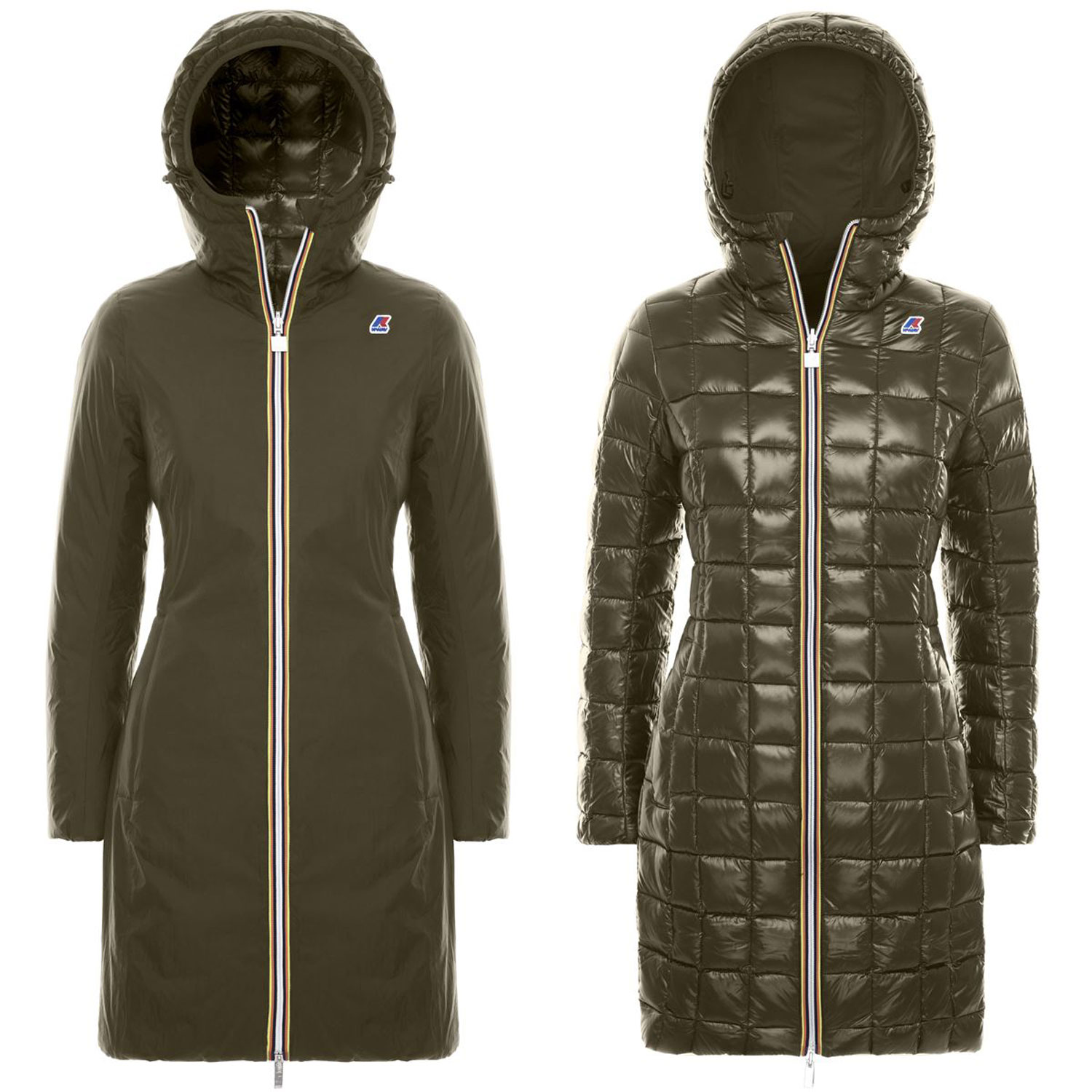 Kway Charlene Thermo Krinkle Double Marrone