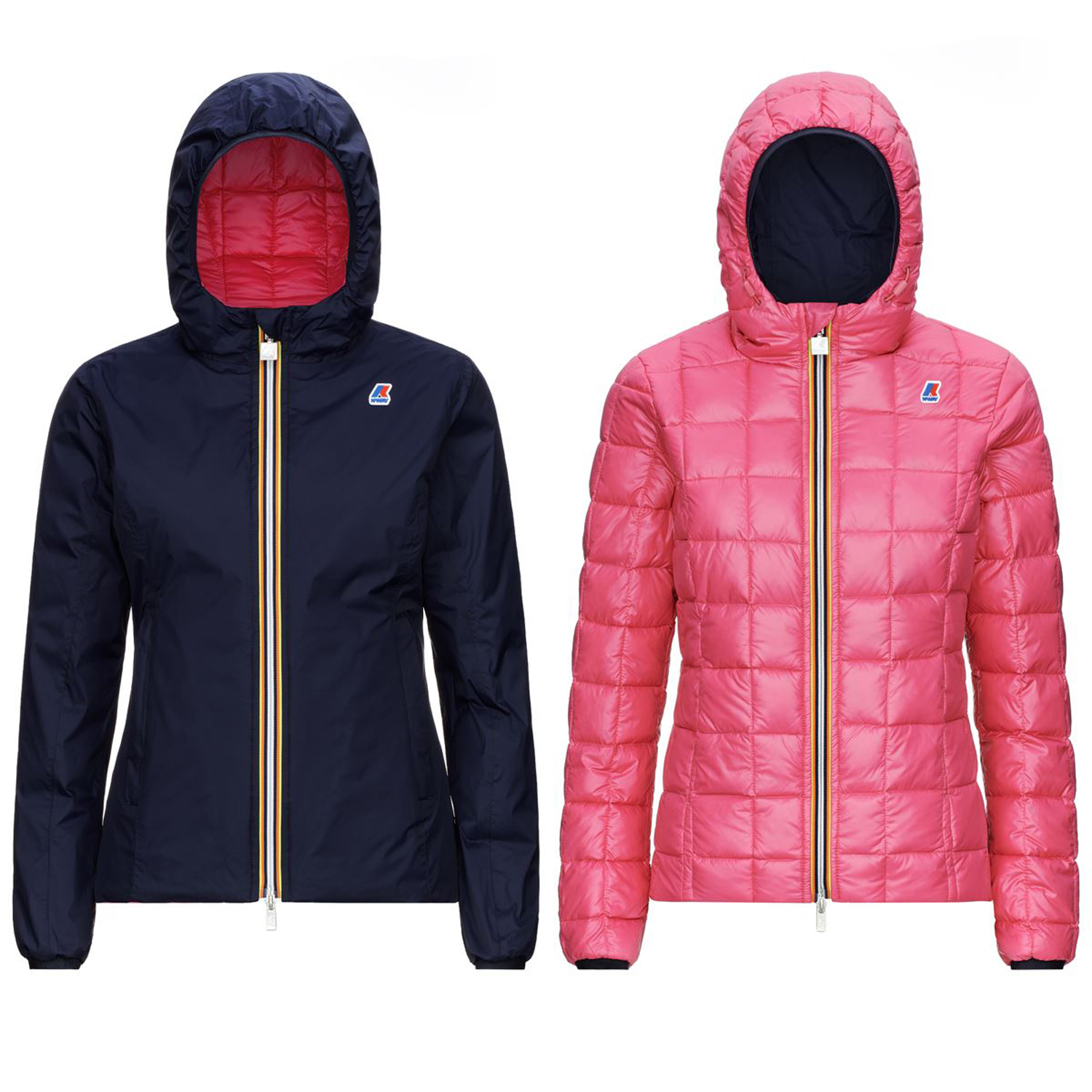Kway Lily Thermo Plus 2 Double Blu Marittimo Rosso claret