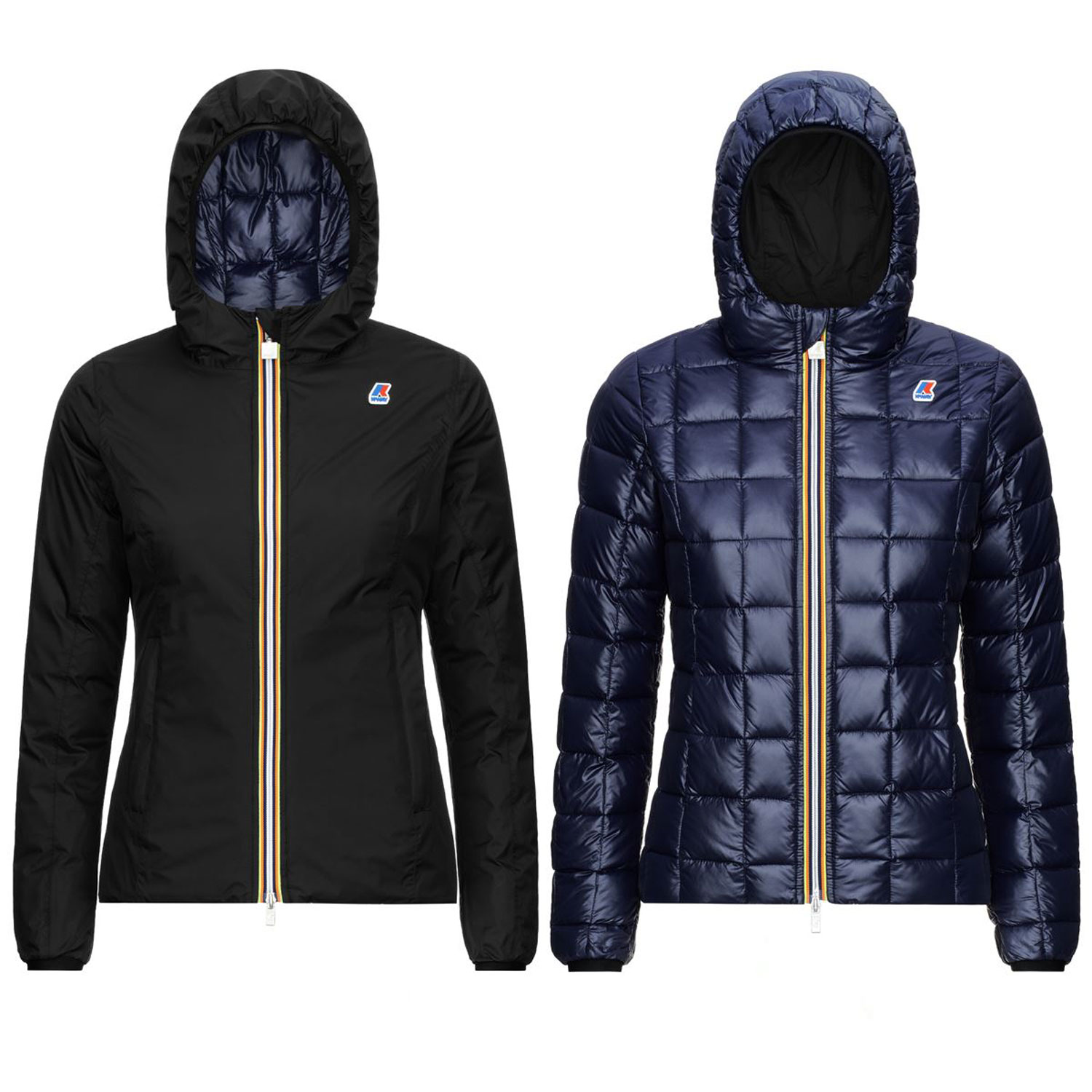 Kway Lily Thermo Plus 2 Double Nero Puro Blu Marino