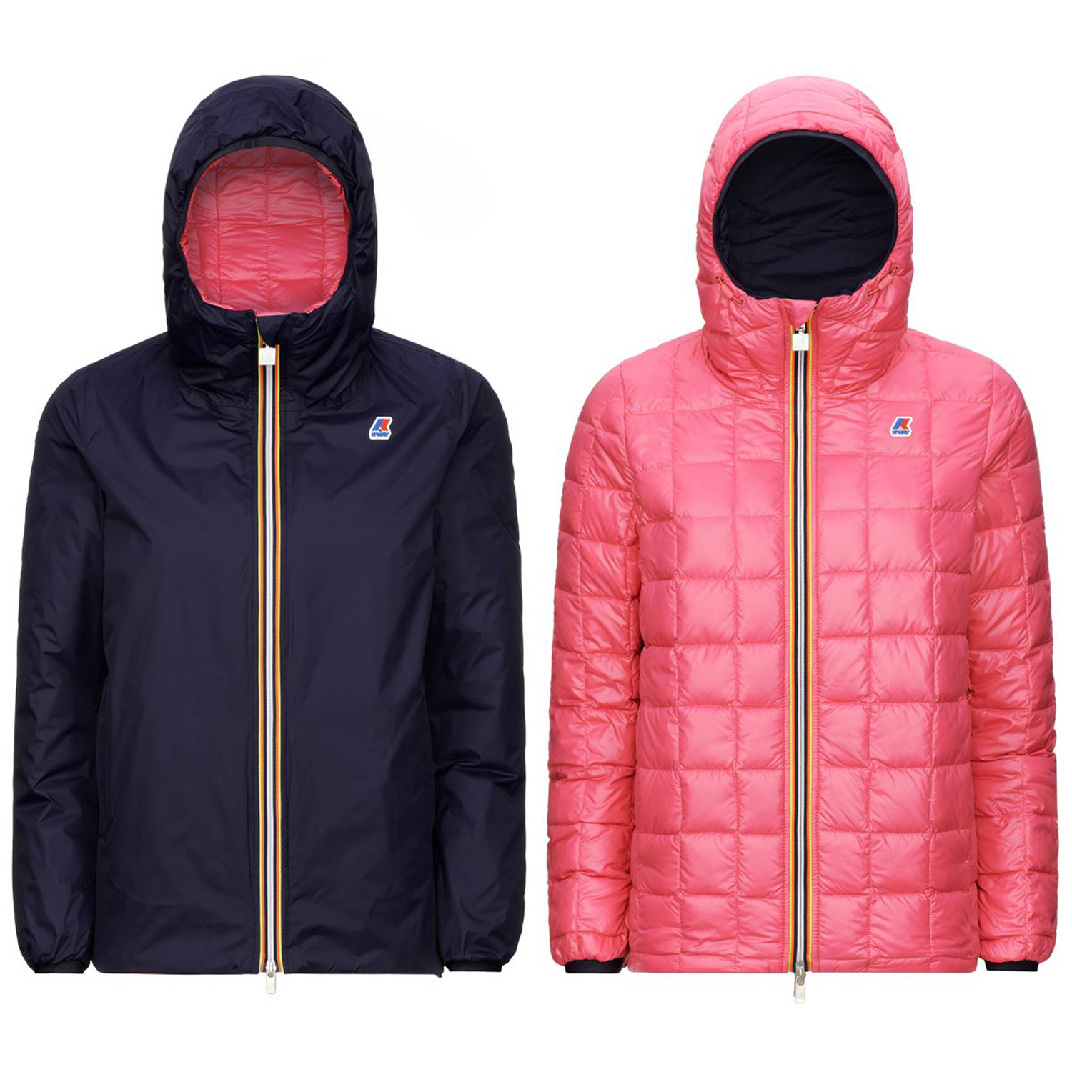 Kway Marguerite Thermo Plus 2 Double Blu Marittimo rosso