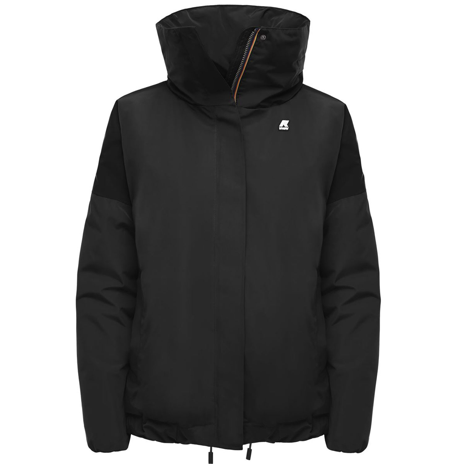 Kway Marilou Thermo Satin Nero