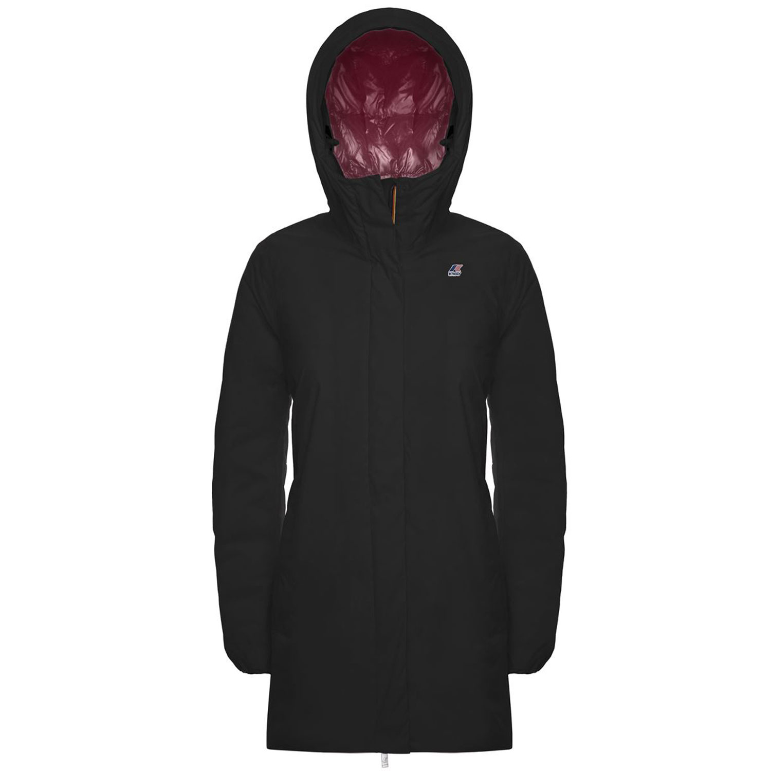 Kway Sophie Thermo Plus Nero Rosa