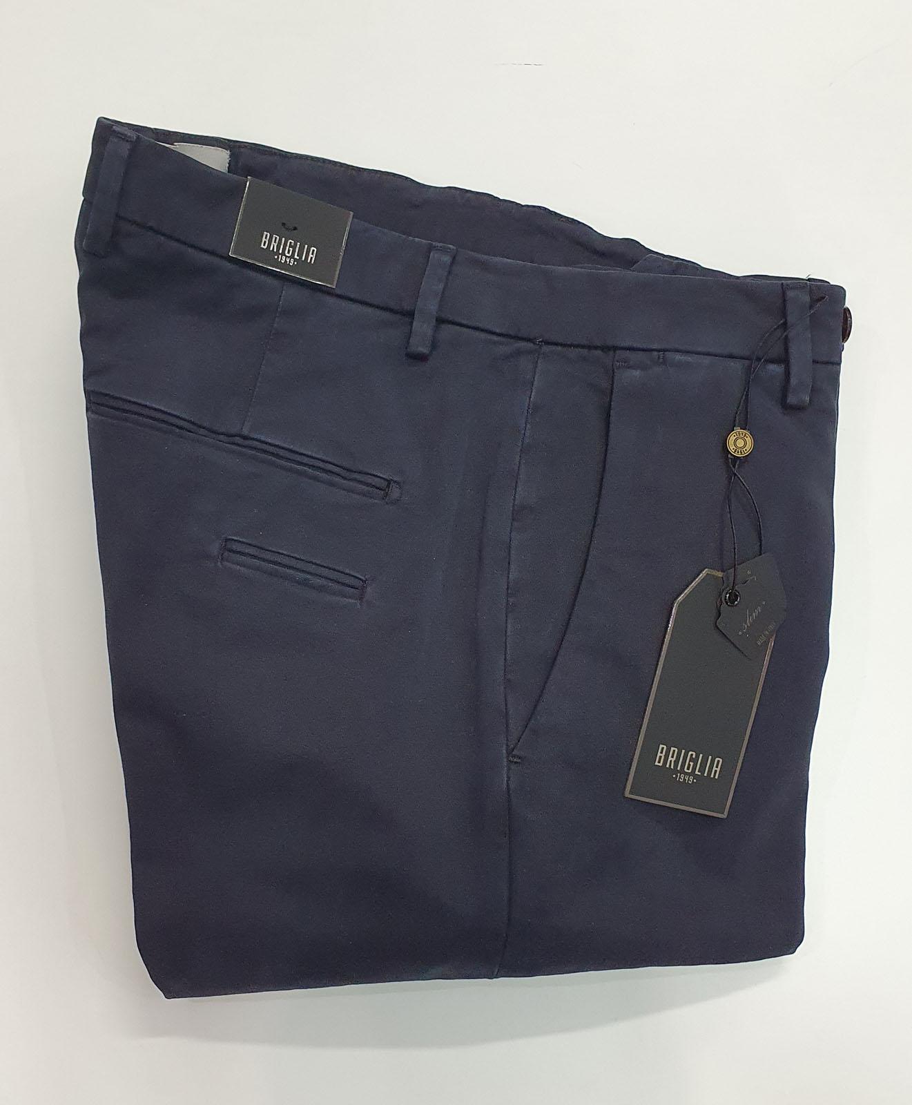 Pantalone Briglia Tasca America Blu
