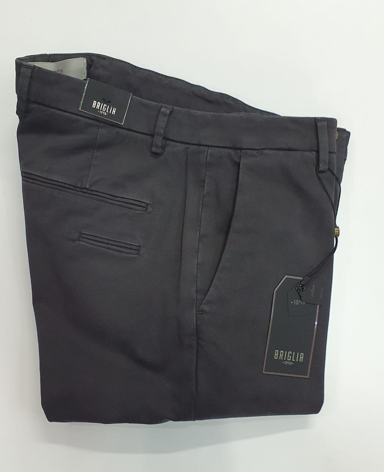 Pantalone Briglia Tasca America Grigio