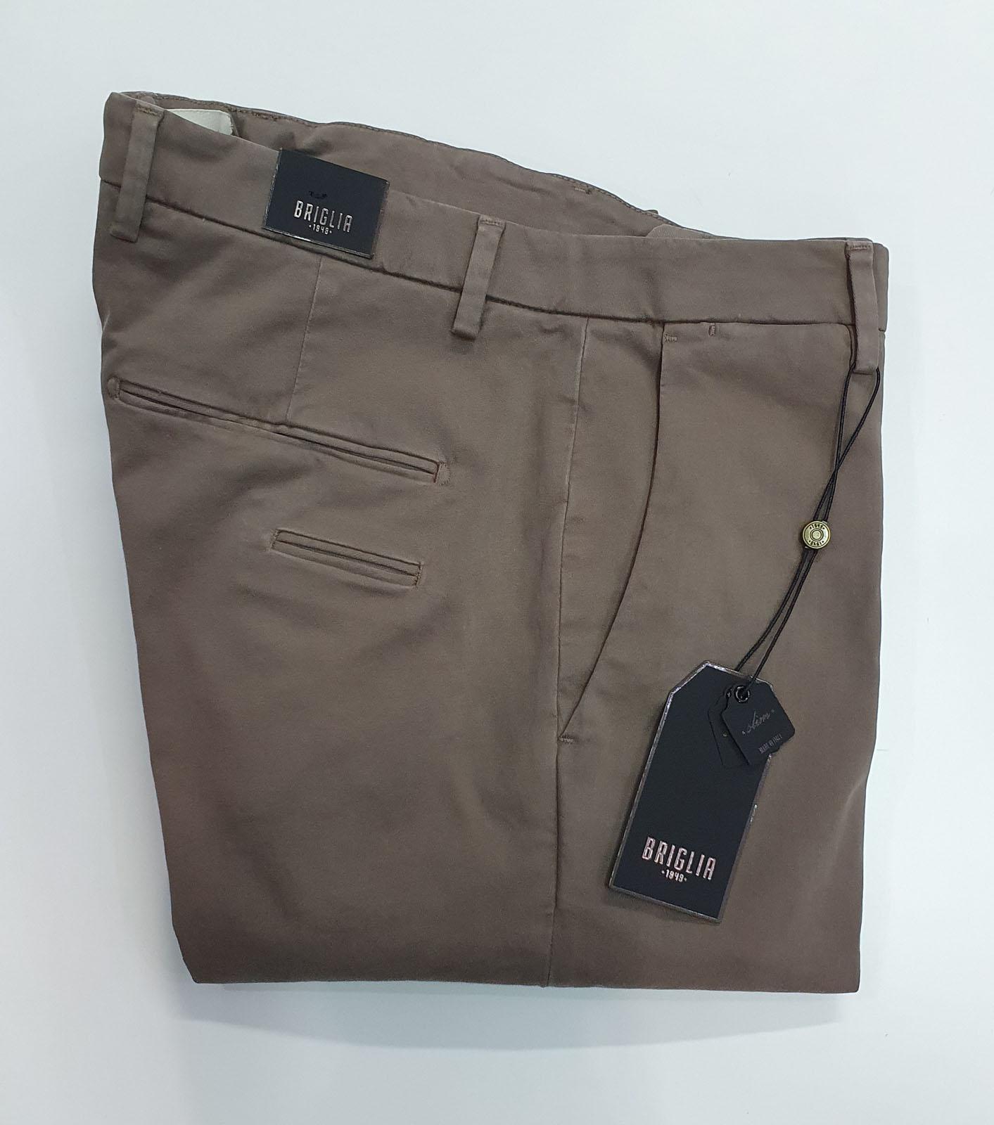 Pantalone Briglia Tasca America Marrone Chiaro