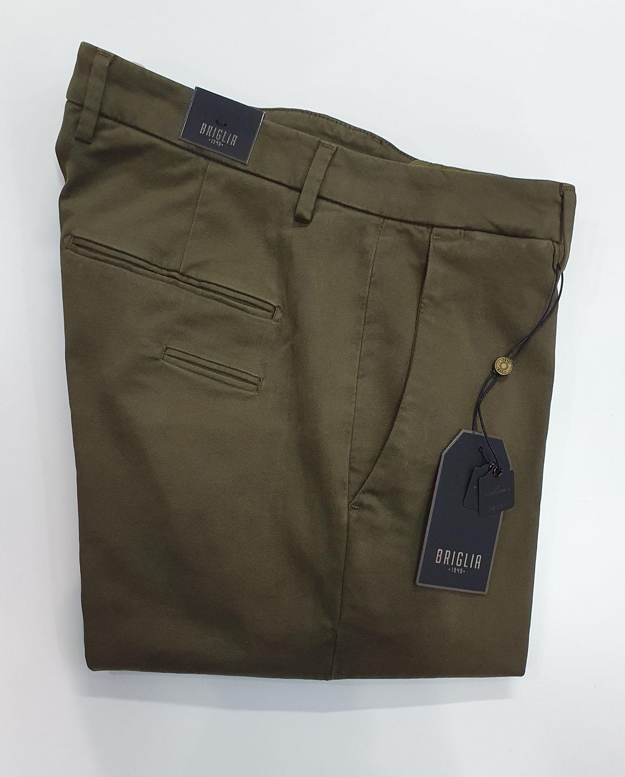 Pantalone Briglia Tasca America Verde