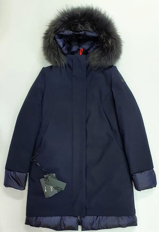RRD Winter light long lady fur Blu