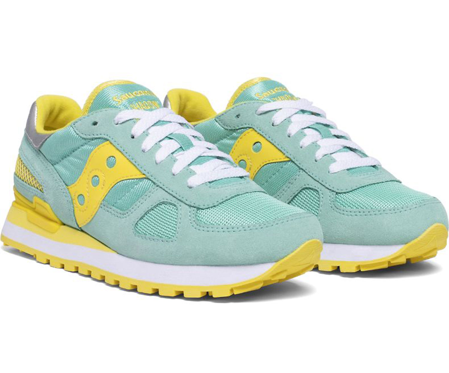 Saucony Donna Shadow Original Blu Giallo