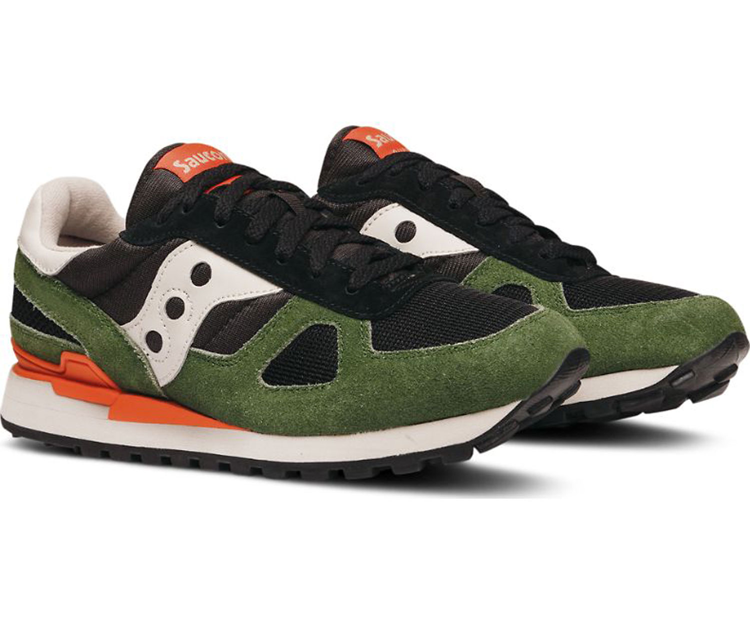 Saucony Uomo Shadow Original Nero Verde