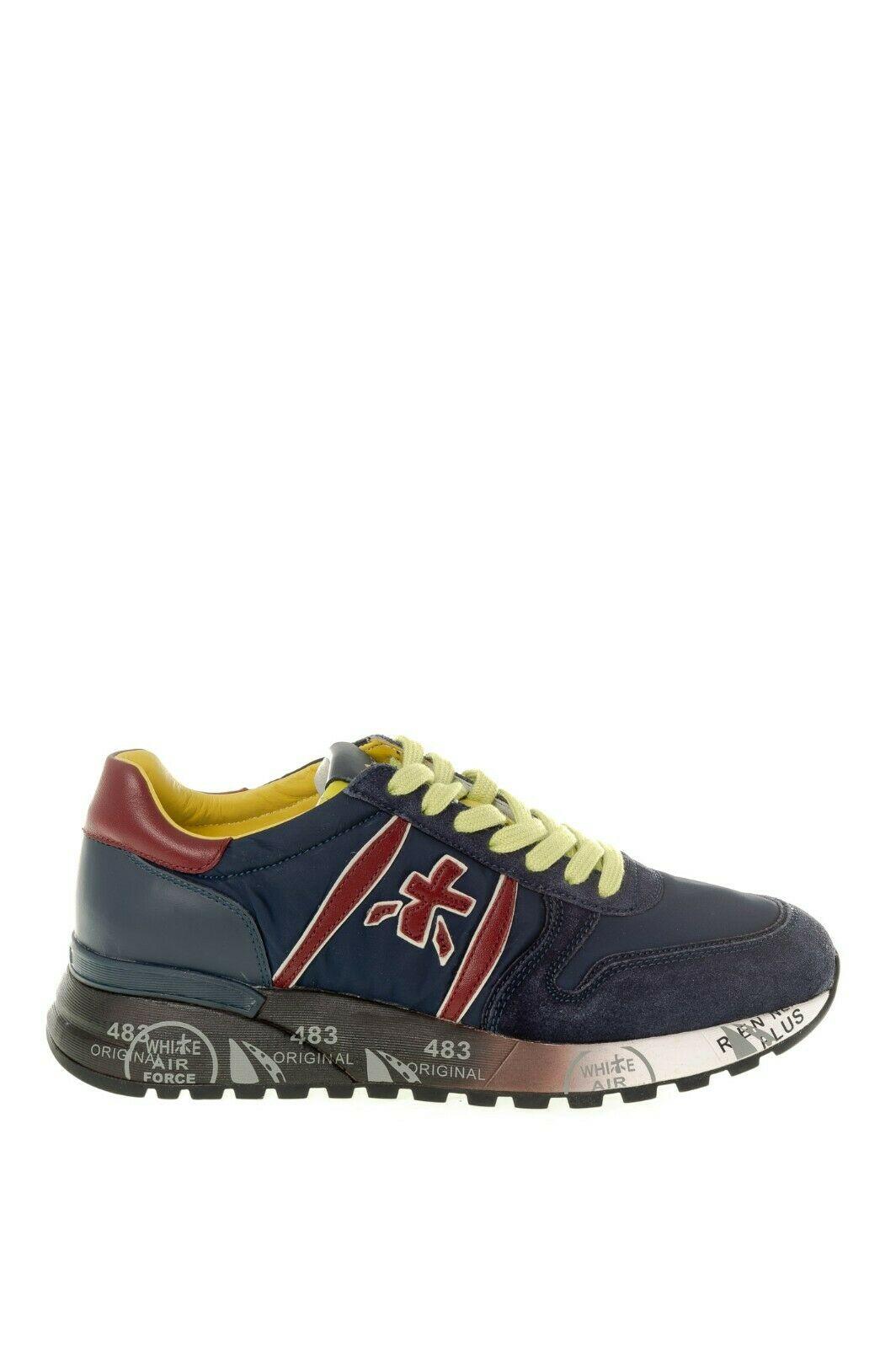Sneaker Premiata Lander 4947 Blu Uomo