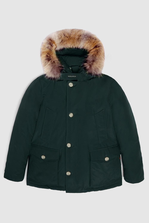 Woolrich Arctic Anorak  Verde Agrifoglio Scuro