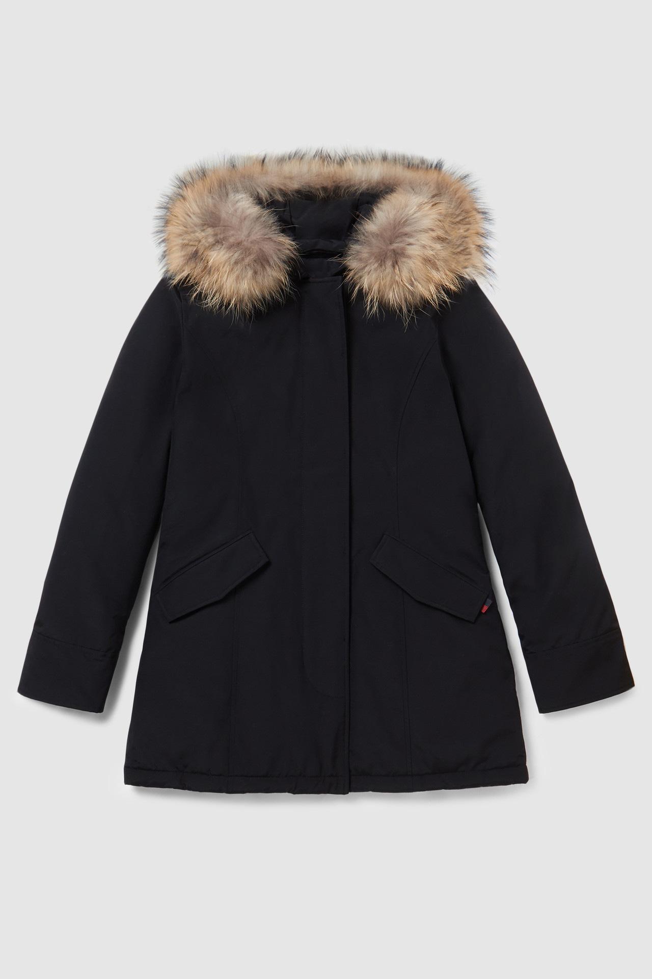 Woolrich Arctic Parka pelliccia racoon nero