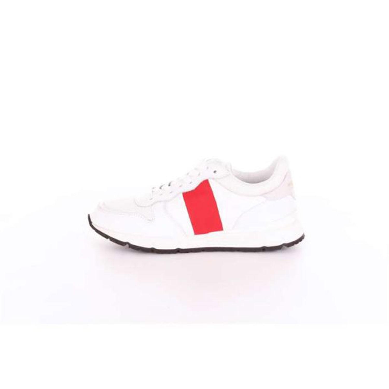WOOLRICH Donna Sneaker Rodi Bianco Rossa