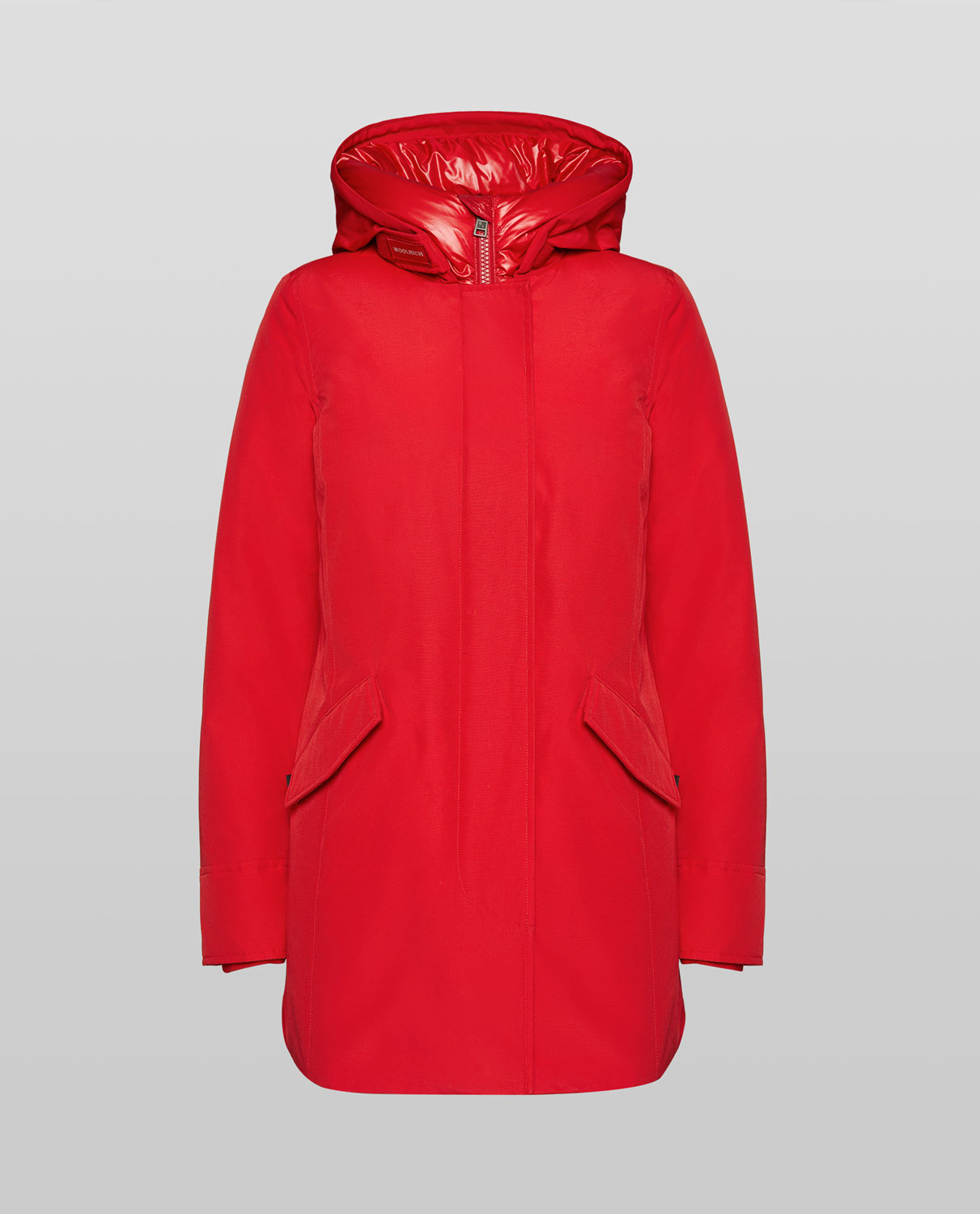 WOOLRICH DONNA WS ARTIC NF ROSSO