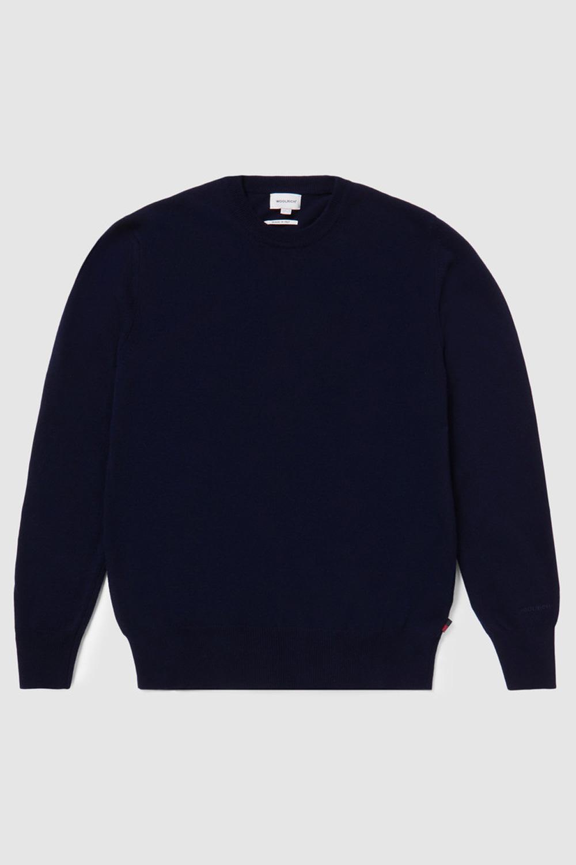 Woolrich Maglione in lana girocollo Blu