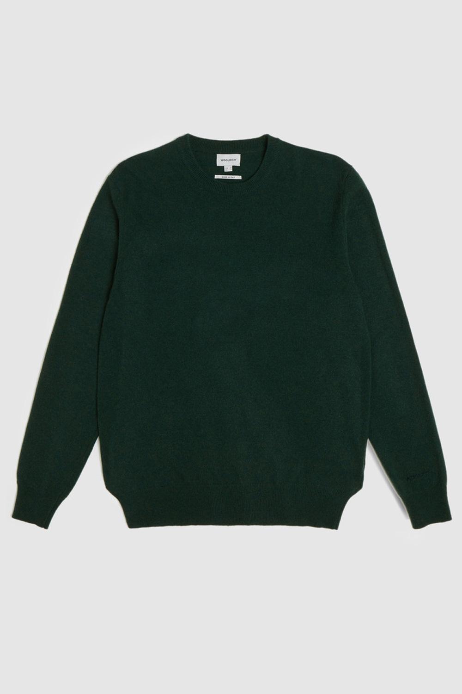 Woolrich Maglione in lana girocollo Verde scuro