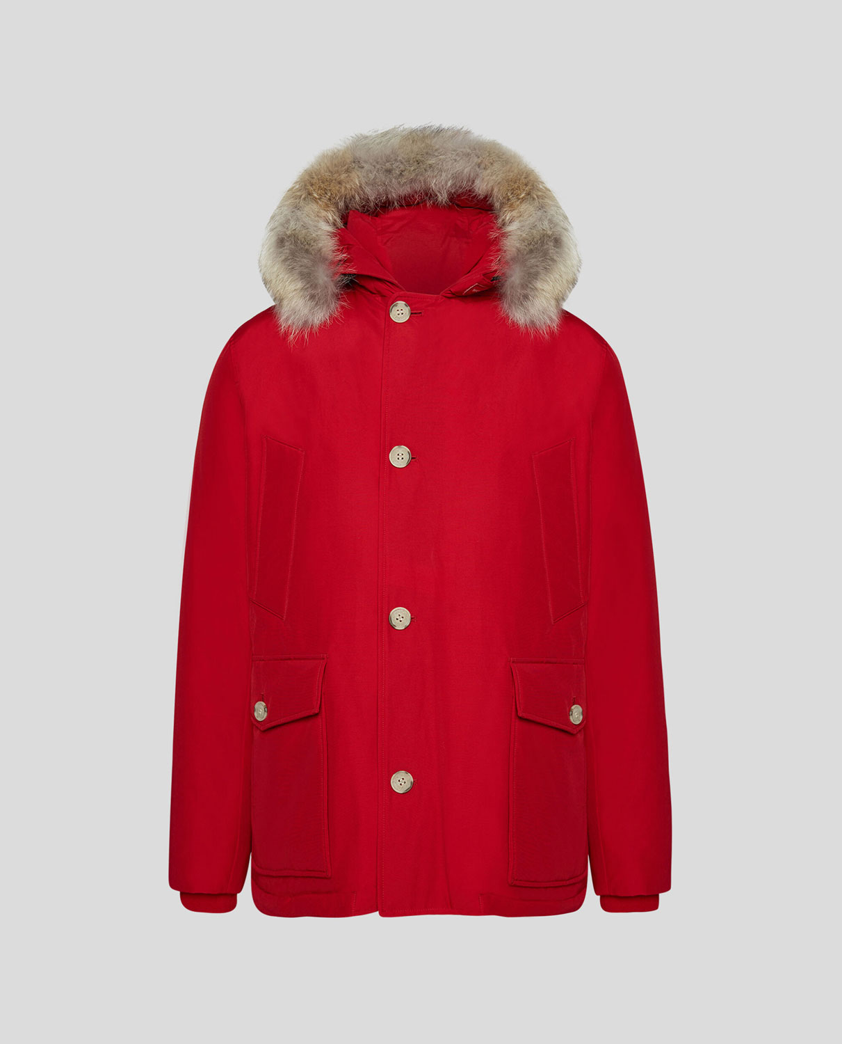 Woolrich WS Artic Anorak Rosso