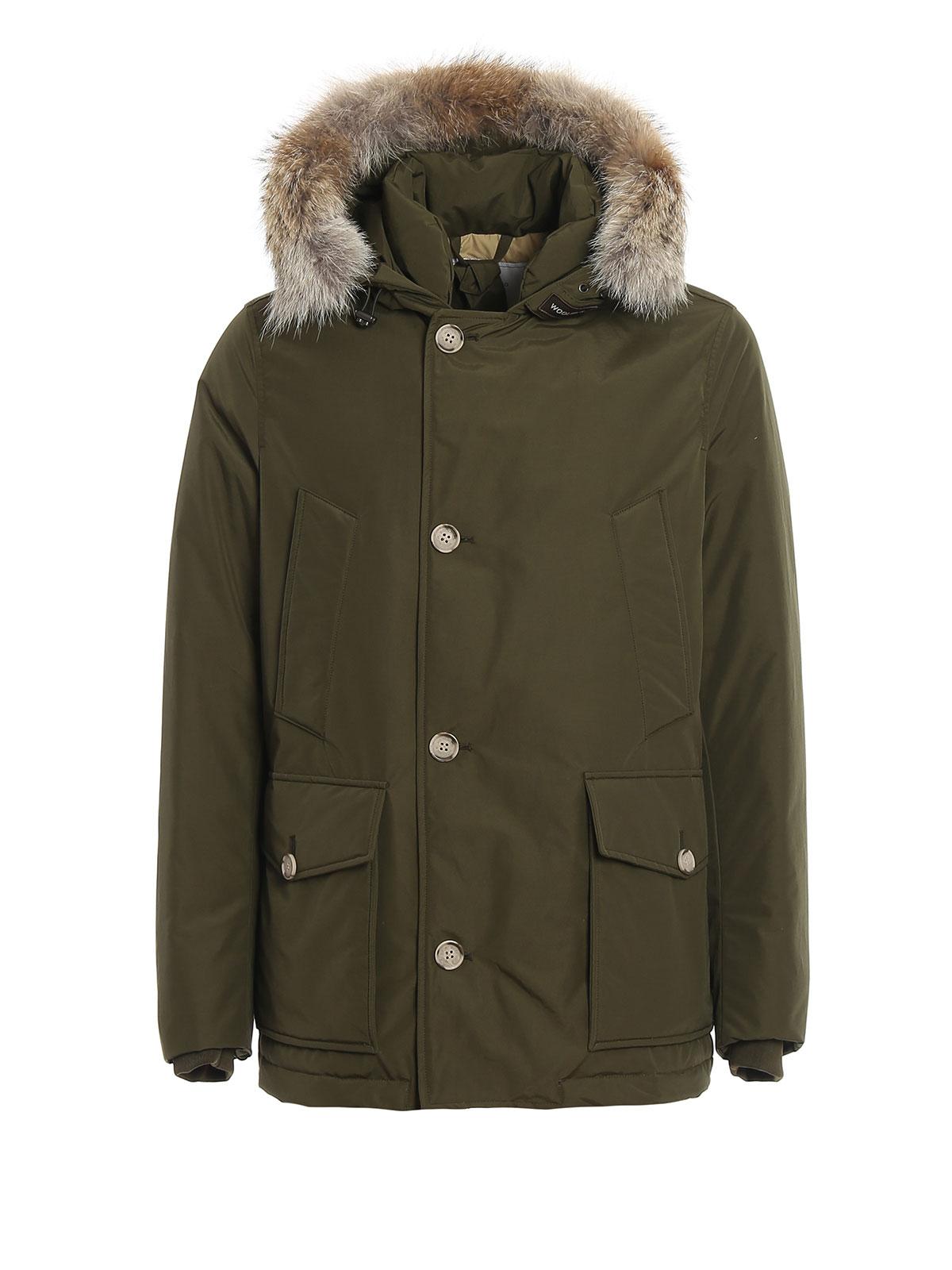 Woolrich WS Artic Anorak Verde Militare