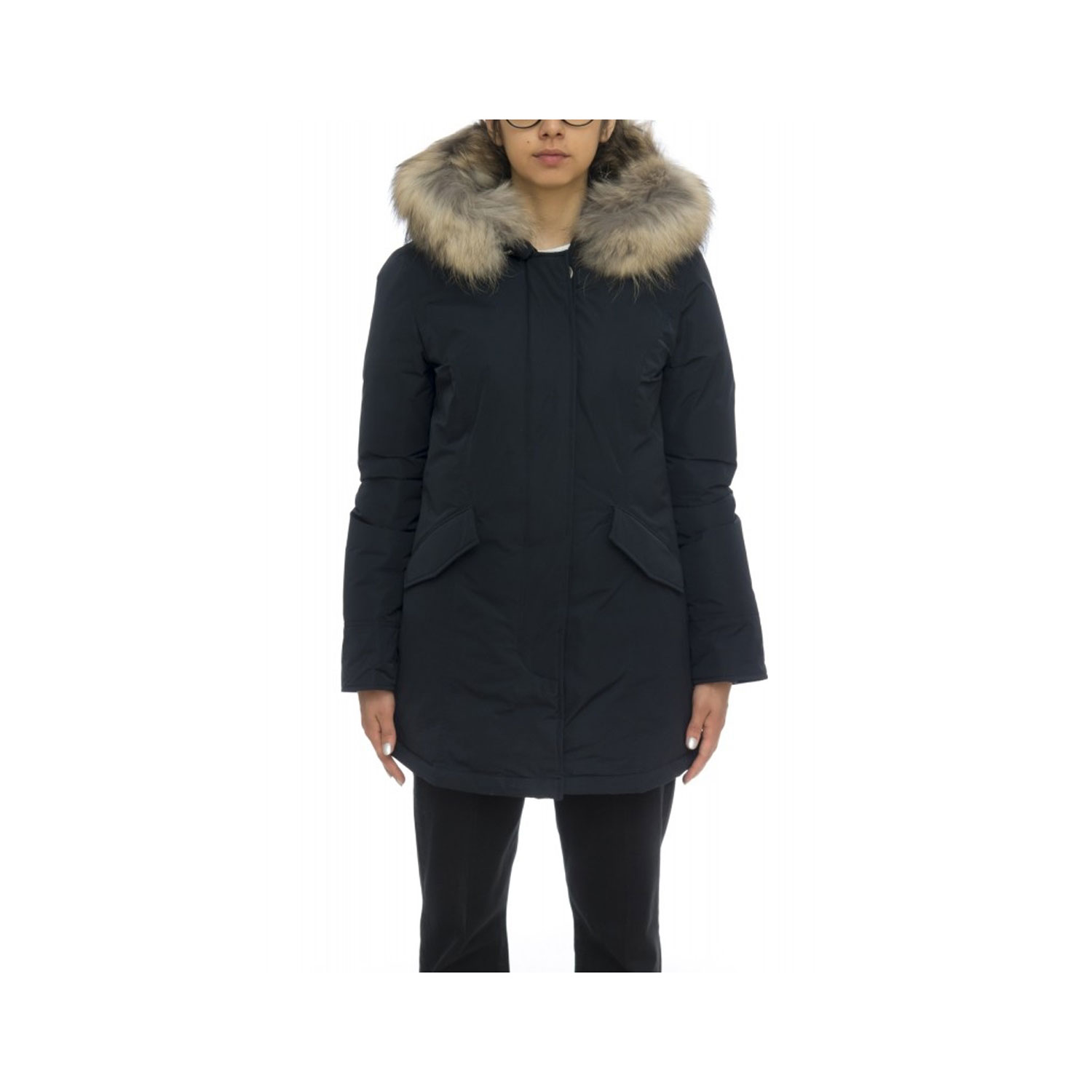 Woolrich WS Luxury Artic Parka Blu Navy
