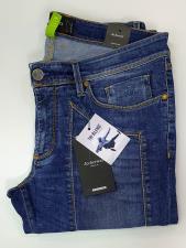 Jeans Jeckerson con toppa Blu