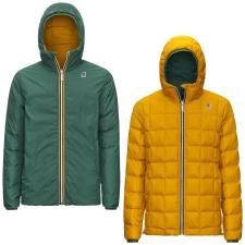 K WAY JACQUES THERMO PLUS.2 DOUBLE VERDE FORESTA GIALLO