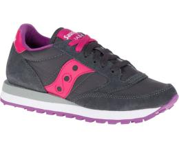 Saucony Donna Jazz Original Carbone Rosa