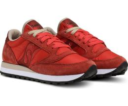 Saucony Donna Jazz Original Rosso Tan