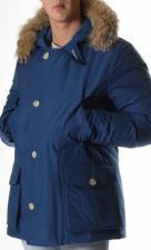 Woolrich Artic Anorak Blu Royal