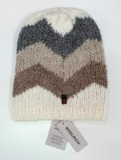Woolrich cappello lana fantasia beige
