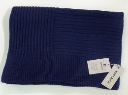 Woolrich Sciarpa in misto lana blu notte